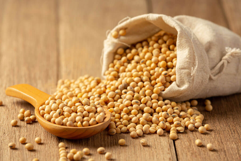 image showing a bag of soybean   Agrrro