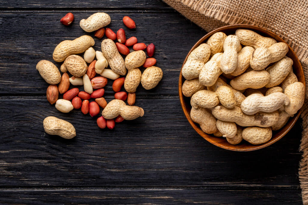 image showing bowl full of peanuts   Agrrro