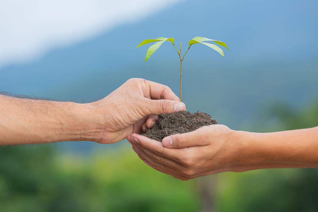 picture of two people represnting the importance of soil management | Agrrro