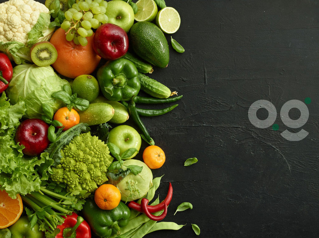 image showing bunch of vegitables on a background | Agrrro